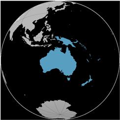 1%<br>Oceania